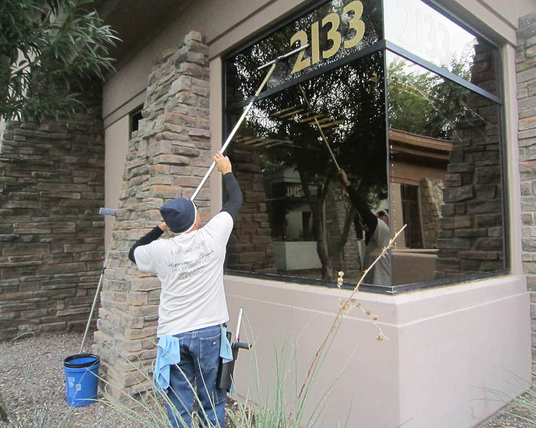 Appearance Counts - Exterior Window Cleaning