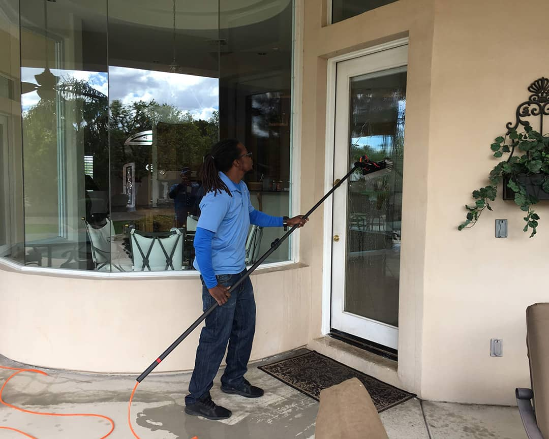 Appearance Counts - Glass Door Cleaning