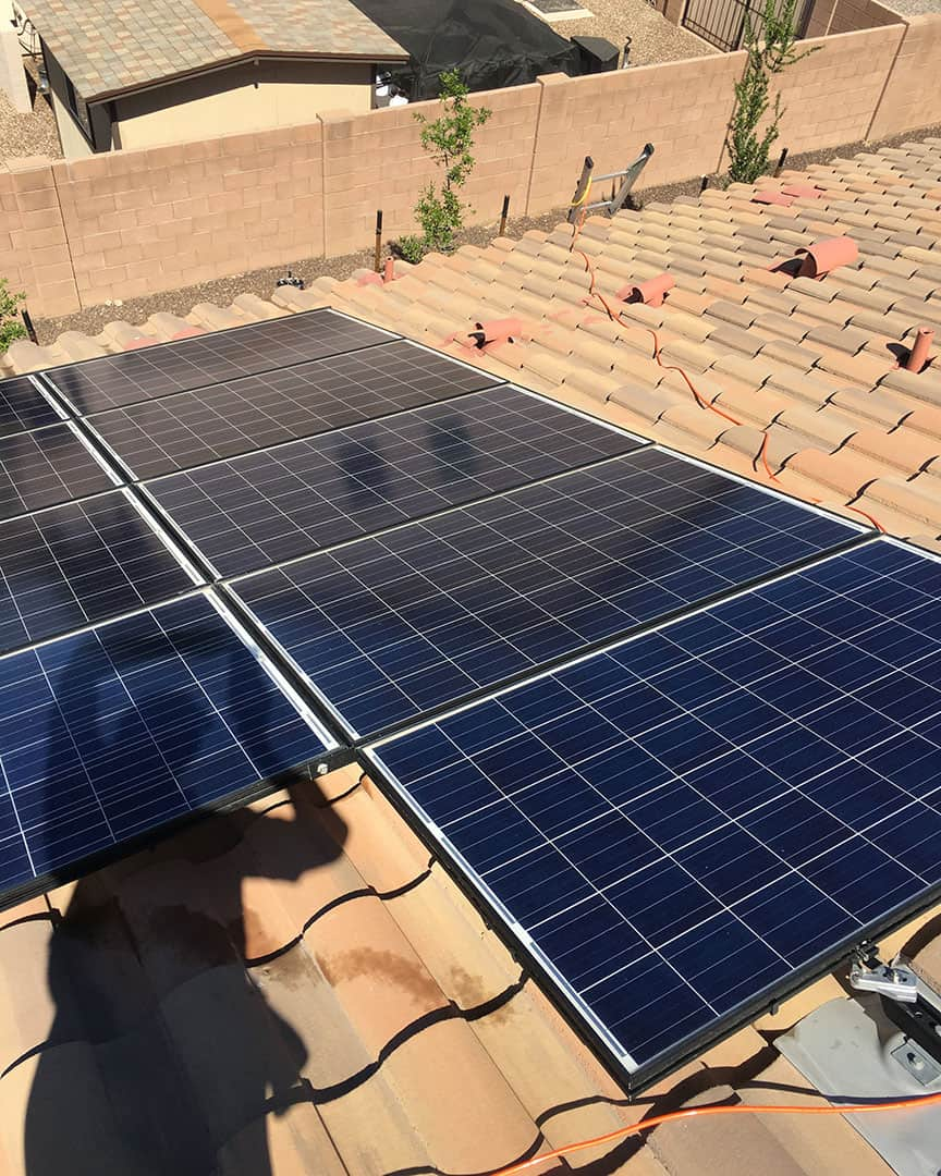 Appearance Counts Solar Panel Cleaning