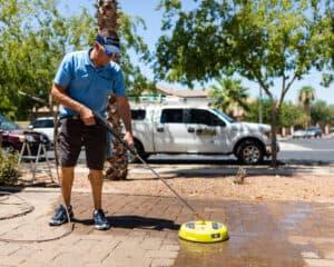 acwc pressure wash driveway