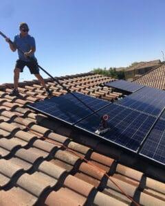 acwc solar panel cleaning